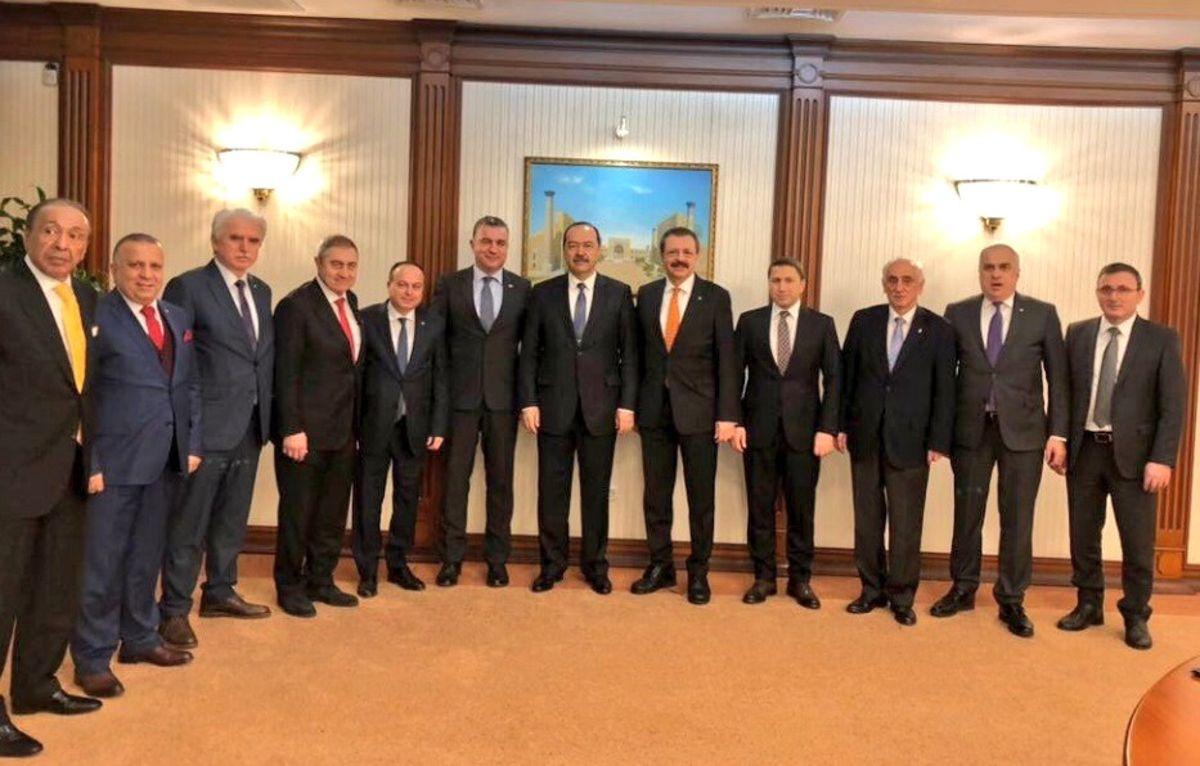 Kösemusul, Hisarcıklıoğlu'nun Taşkent Programına Katıldı