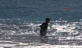 Antalya Kaş'ta Turistler Denize Girdi, Ağaçlar Çiçek Açtı