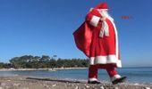 Antalya Kemer'e 'Noel Baba'lı Yeni Yıl Tanıtımı
