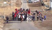 Sivas'ta Sarıkamış Şehitlerini Anma Yürüyüşü Düzenlendi