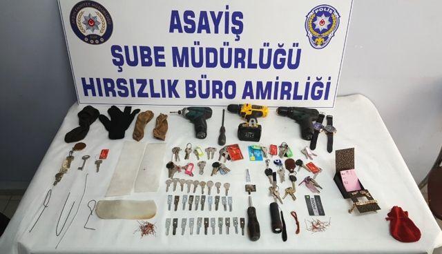 Aydın'da 'Bilyeli Maymuncuk' Hırsızı Yakalandı