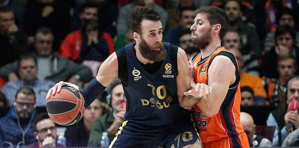 Valencia Basket-Fenerbahçe Doğuş: 67-80
