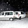 Kar Kaza Yaptırdı, 11 Araç Kazaya Karıştı: 7 Yaralı