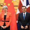 Çin ve İngiltere Başbakanları İkili Ticareti Görüştü