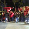 Şehit Teğmenin Evinin Bulunduğu Caddeye Türk Bayrakları Asıldı