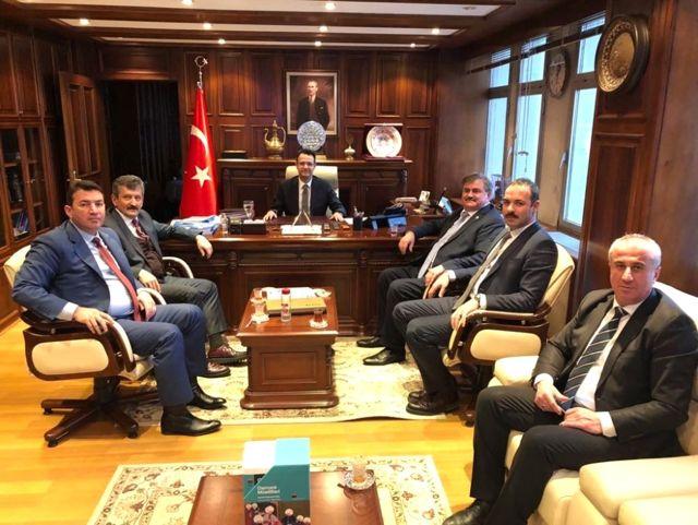 Çaturoğlu Milli Emlak ile Mülkiyet Sorununu Görüştü