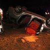 Polisleri Taşıyan Otomobil Takla Attı: 1 Şehit, 2 Yaralı
