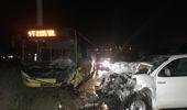 Kamyonet ile Belediye Otobüsü Çarpıştı, Kazada Bir Kişi Öldü
