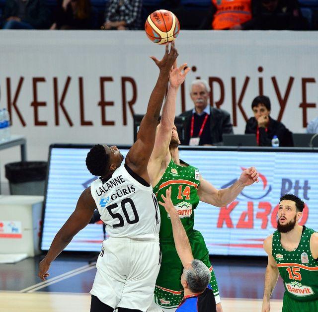 PTT Erkekler Türkiye Kupası: Beşiktaş Sompo Japan: 80 - Banvit: 63
