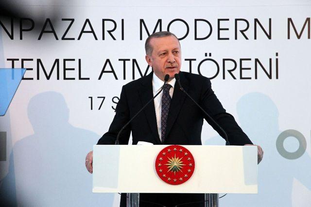 Erdoğan, Odunpazarı Modern Müze'nin Temel Atma Törenine Katıldı