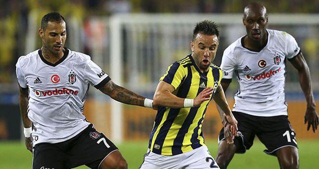 Beşiktaş-Fenerbahçe Derbisinin İddaa Oranları Belli Oldu