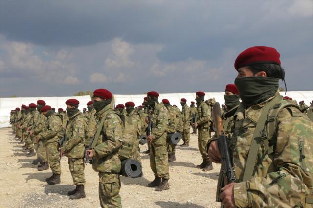 AA: Afrinli Kürt Şahinleri, YPGye karşı savaşacak 90