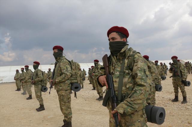 AA: Afrinli Kürt Şahinleri, YPGye karşı savaşacak 36
