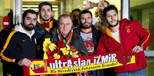 Galatasaray Kafilesi İzmir'de!