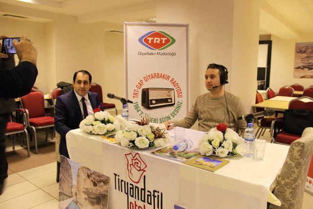 TRT Gap Radyosu Darende'yi Tanıttı