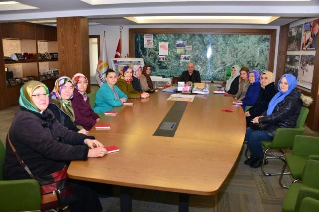 Başkan Saraoğlu: Kadının Olduğu Yerde Nezaket, Zerafet, Hoşgörü ve Saygı Vardır