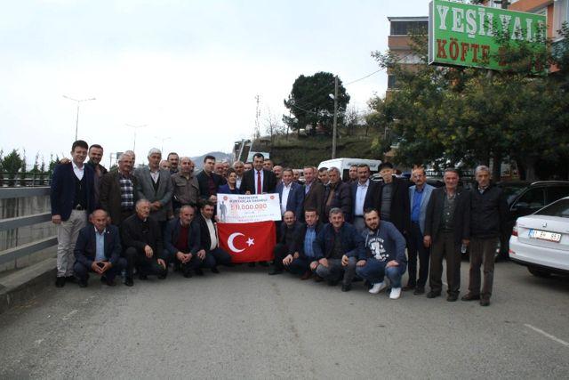 Vakfıkebir'den Mehmetçik'e 11 Bin TL Bağış