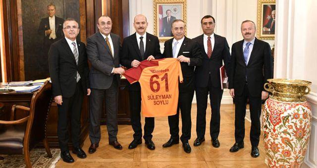 Mustafa Cengiz, Süleyman Soylu ve Mehmet Özhaseki'yi Ziyaret Etti