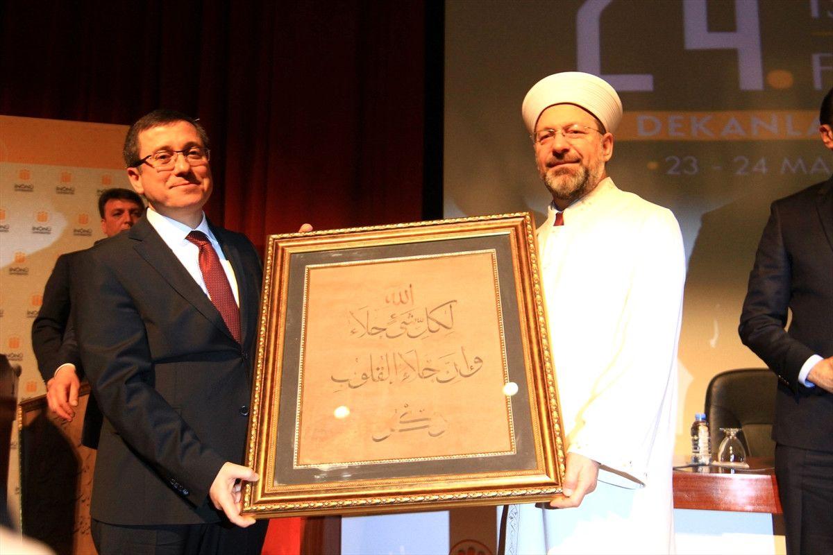 24. İlahiyat ve İslami İlimler Fakülteleri Dekanları Geleneksel Toplantısı