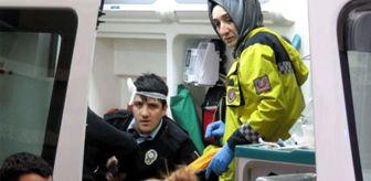 Hırsız Polislere Kürekle Saldırdı! 3 Polis Yaralandı