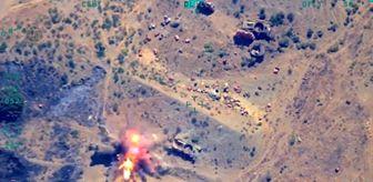 İHA Tespit Etti, SİHA Bomba Yağdırdı: 3 PKK'lı Öldürüldü