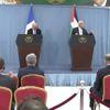 Fransa Dışişleri Bakanı Jean-Yves Le Drian, Filistin'de (3)