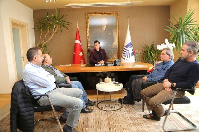 Yat İşletmecilerinden Başkan Kocadon'a Ziyaret