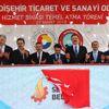 TOBB Başkanı Hisarcıklıoğlu Seydişehir'de