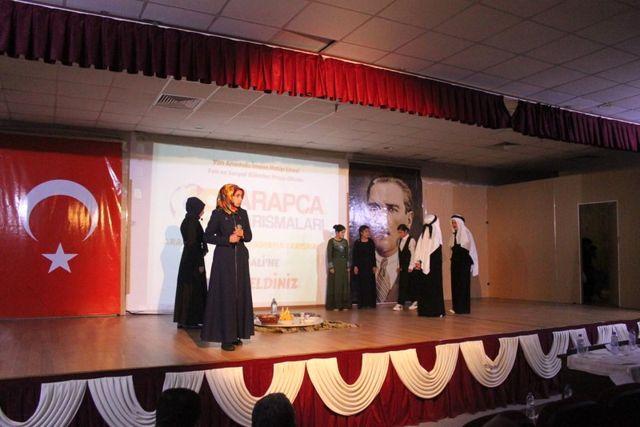Van'da 'Arapça Metin Canlandırma Yarışması' Finali