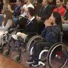 Manisa İşitme Engelli İbrahim'in Azmi Parmak Isırttı
