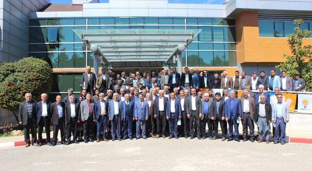 AK Parti Köy Başkanları Toplantısı Gerçekleştirildi