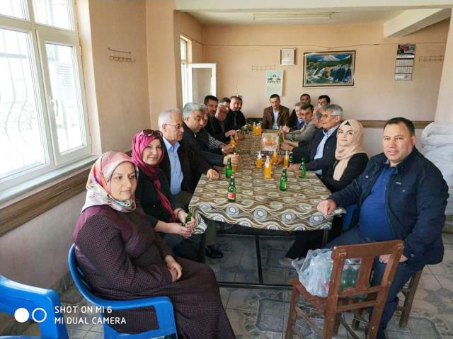 Hisarcık'ta AK Parti İlçe Danışma Meclisi Toplantısı