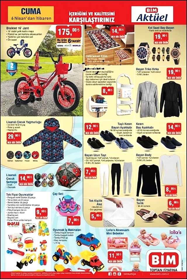 08b78b1c38625 ... ürünü olarak Cuma günü satışa sunulacak. BİM Aktüel 6 Nisan kampanya da  yine çocukları sevindirecek olan oyuncak çeşitlerinin bulunduğunu görüyoruz.
