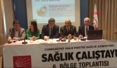 CHP Sağlık Komisyonu, 6'ncı Bölge Çalıştayı'nı İstanbul'da Yaptı