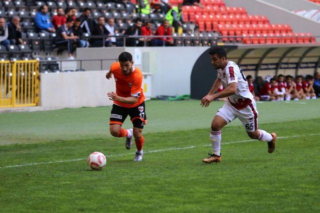 Spor Toto 1. Lig: Gaziantepspor: 0 - Adanaspor: 3