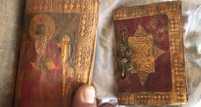 Aksaray'da Yüzlerce Yıllık Tarihi İncil Ele Geçirildi