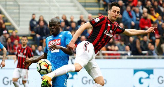 İtalya'da Napoli, Deplasmanda Milan ile Golsüz Berabere Kaldı