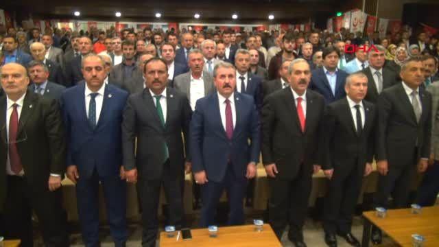 Sivas - Destici: Cumhur İttifakının Adayı Kimse, BBP'nin de Adayı O Olacak