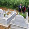 1 Mayıs Öncesi Şehit Madencinin Mezarını Ziyaret Ettiler