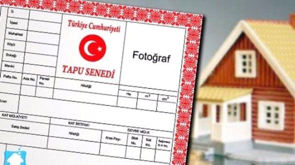 Türkiye'de Tapuların Yüzde 63'ü Erkeklerin, Yüzde 37'si Kadınların Üzerinde