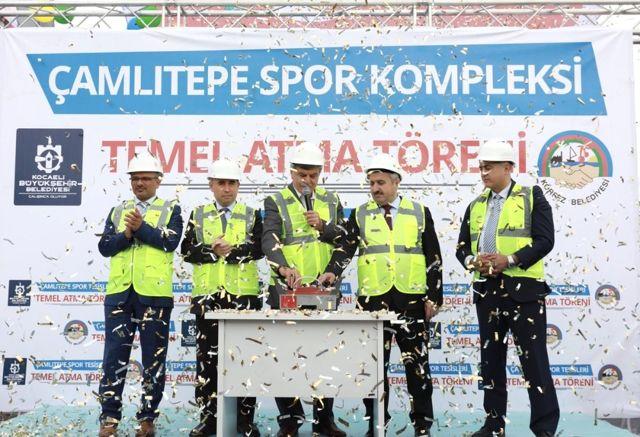 Çamlıtepe'ye Dev Spor Kompleksi