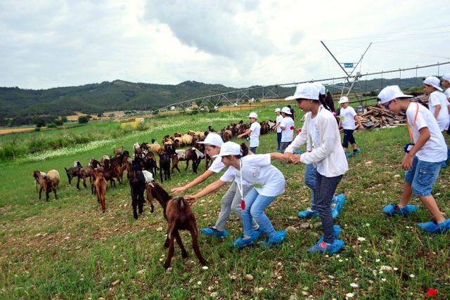 Adana'da Çocuklar Tarımla Buluştu