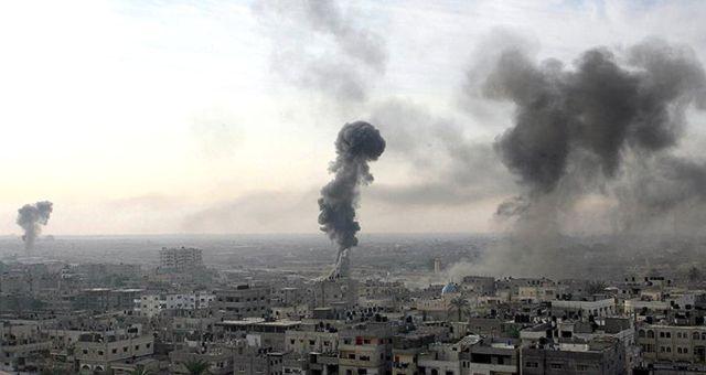 İsrail, Gazze'de Hamas'a Ait İki Askeri Noktayı Vurdu