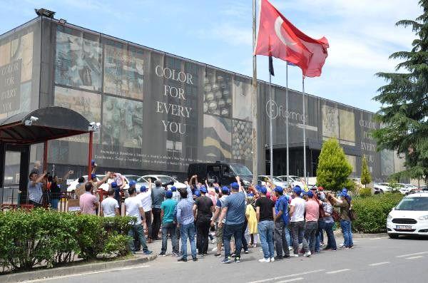 Kozmetik Fabrikasında 95 İşçi, İşten Çıkarıldı