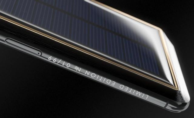 Güneş Enerjisiyle Çalışan Telefon
