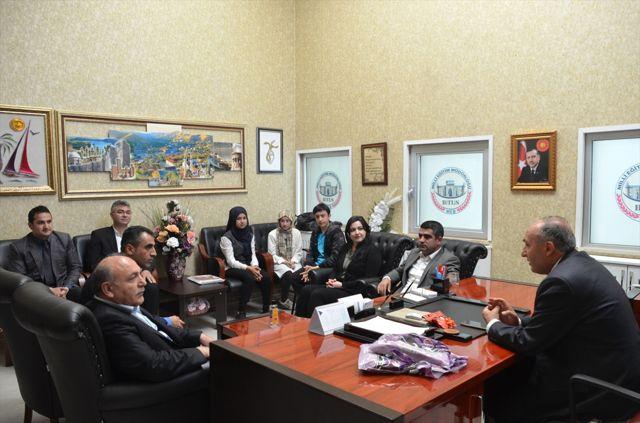 Tübitak Yarışmasında Dereceye Giren Öğrenciler Ödüllendirildi
