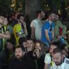Fenerbahçeli Taraftarlar Real Madrid Maçını Dev Ekranda İzledi