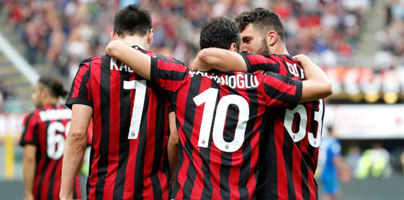 Milan - Fiorentina: 5-1 - Spor