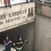 Su İçinde Kalan Köprüde Mahsur Kalan Öğrenciler Kurtarıldı