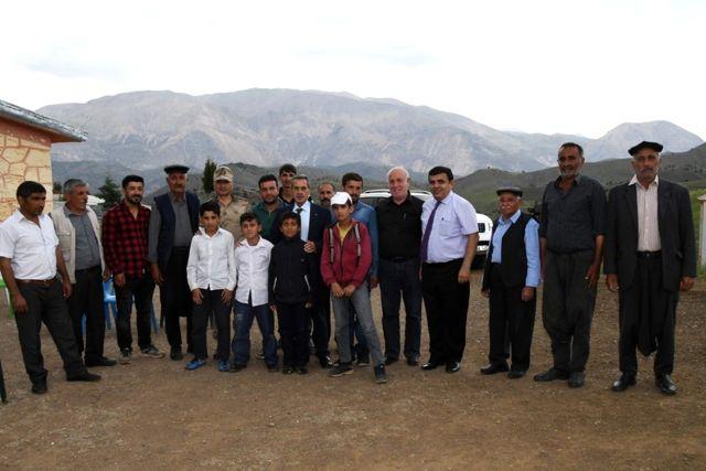 Vali Kalkancı'dan Köylere Çıkarma